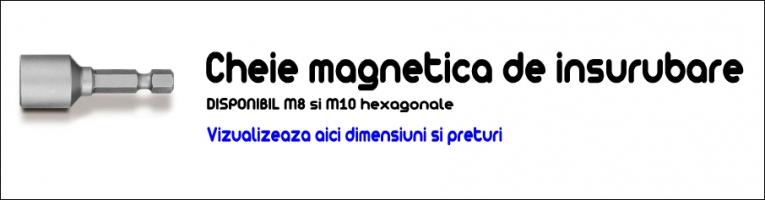 Cheie magnetica pentru insurubare