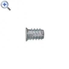 Bucsa zinc dublu filet M6 10XL 10mm
